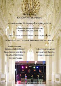 Königsball 2019 @ Ballsaal Altes Kurhaus | Aachen | Nordrhein-Westfalen | Deutschland